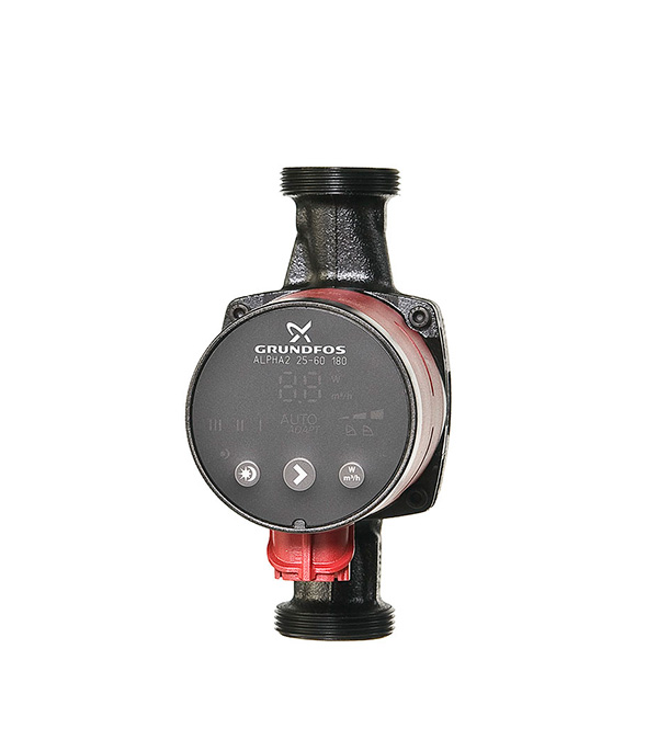 Насос циркуляционный для систем отопления Grundfos Alpha2 25-60 с гайками