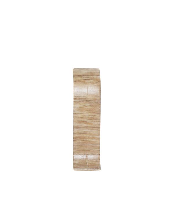СоединительWimar 58 ммдублетний(2 шт) плинтус пвх royal 76мм дуб светло серый 2 5м