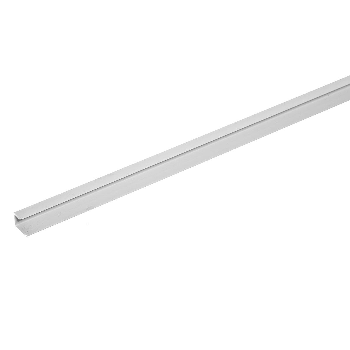 Профиль стартовый окантовочный для гипсокартона (пластиковый) 12,5 мм, 3 м