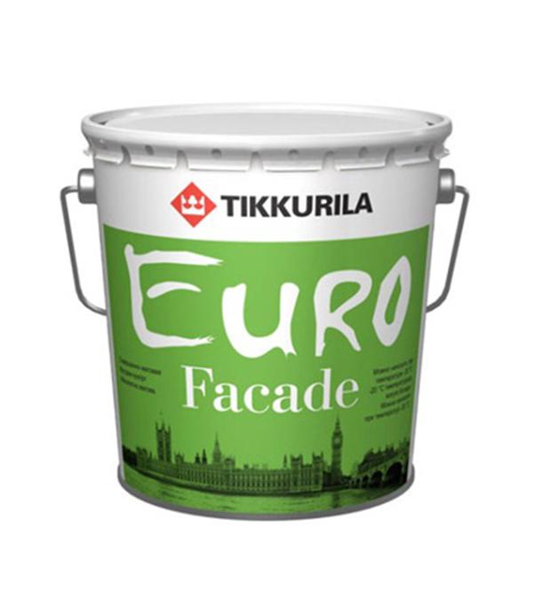 Краска фасадная Euro Facade основа КА глубокоматовая Тиккурила 2,7 л