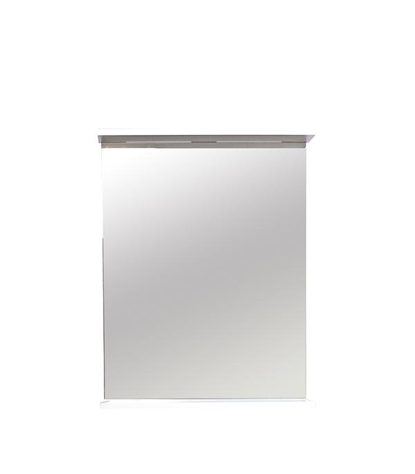 Зеркало Эко 550 мм, с полкой зеркало для прихожей с полкой