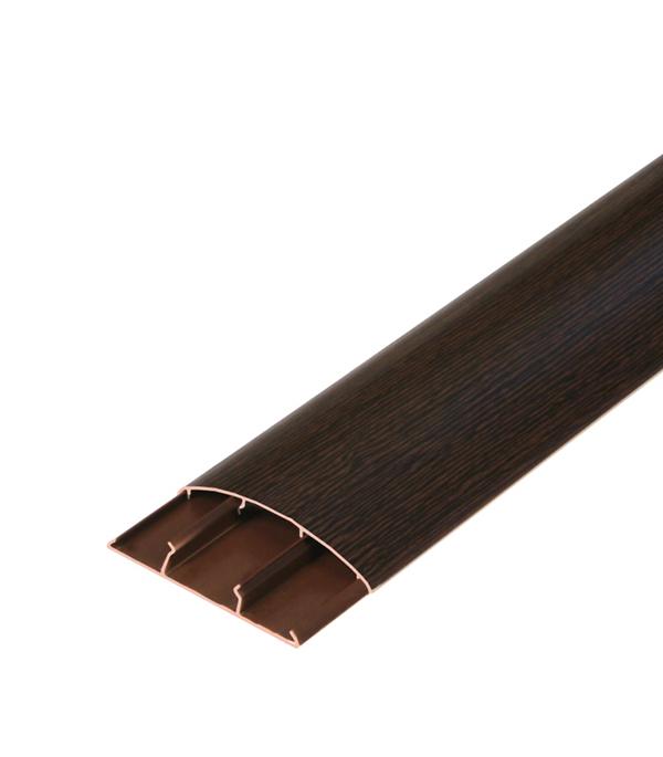 Наличник ПВХ с кабель-каналом 70х12х2200 мм Венге
