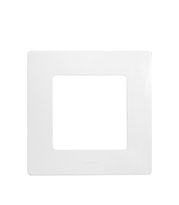 Рамка одноместная универсальная  Legrand Etika белая рамка legrand etika с защитной крышкой ip44 белый 672550