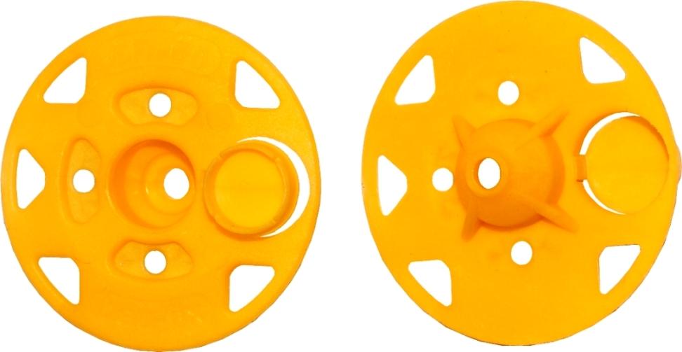 Рондоль прижимная (крепеж тарельчатый) d60 мм (30 шт.) Bau-Fix