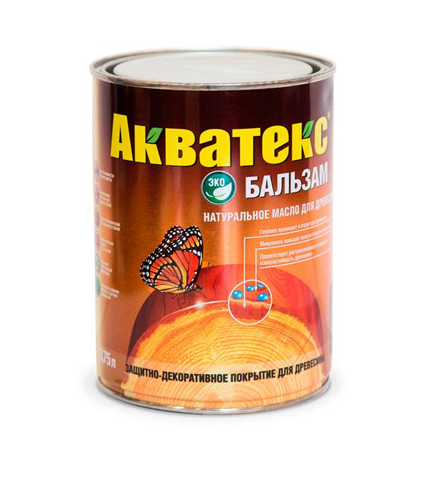 Масло для дерева Акватекс-Бальзам бесцветный 0,75 л
