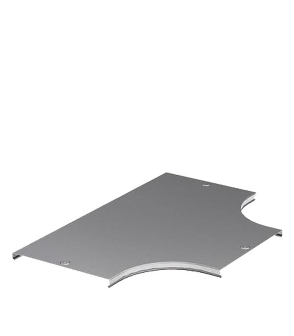 Крышка на ответвитель Т-образный горизонтальный ДКС для лотка 100 мм крышка dkc 09510 60x2000 белый