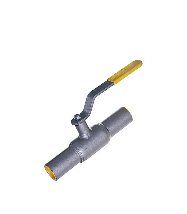 Кран шаровый приварной LD PN40 Ду40 стандартнопроходной стальной кран шаровый муфтовый ld pn40 ду40 1 1 2 в в стандартнопроходной стальной