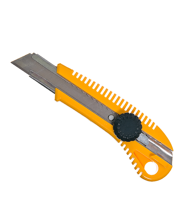 Нож с ломающимся лезвием Hardy 18 мм пластиковый корпус c винтовым фиксатором нож с выдвижным лезвием truper cut 6x 16977