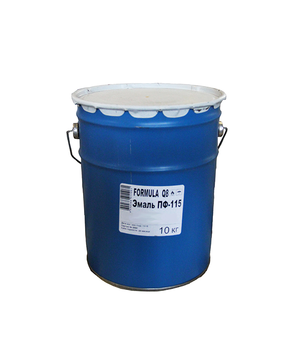 Эмаль ПФ-115 голубая Formula Q8 10 кг