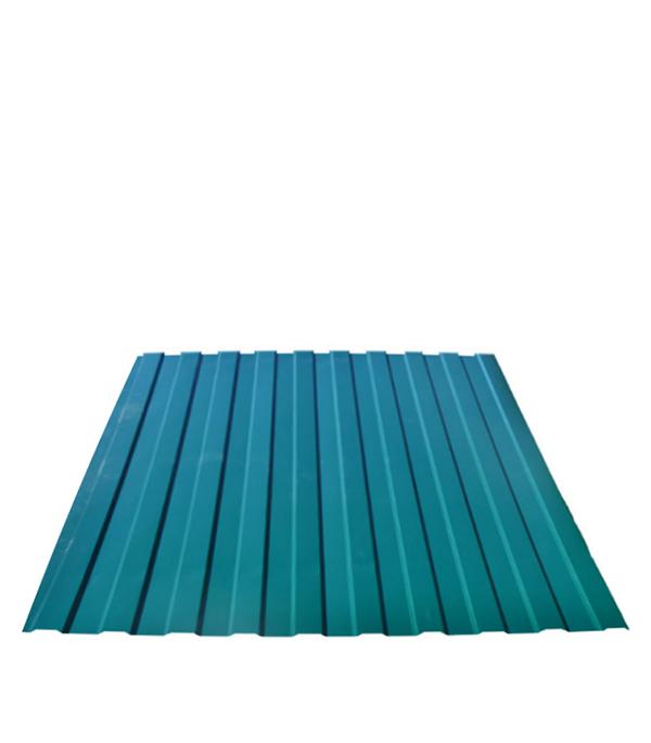 Профнастил  С-8 1,20х2,00 м, толщина 0,33 мм  зеленый RAL 6005 профнастил н57 купить в уфе