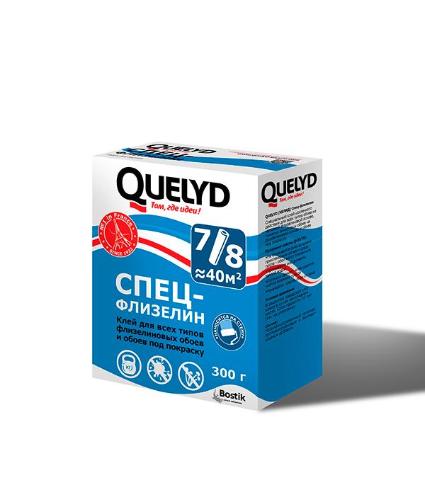 Клей Quelyd флизелиновый для обоев 300 гр  обои под покраску marburg lazer 9232 белые 1 06х25м на флизелиновой основе
