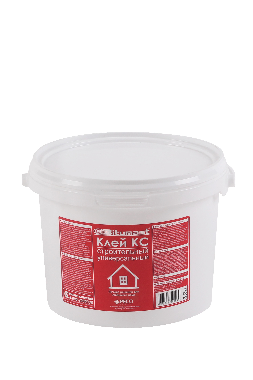 Клей строительный КС Bitumast  3 кг