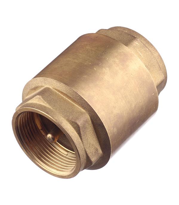 Клапан обратный 1.1/2 внутр(г) Tiemme аквалого aqualogo клапан обратный для компрессора 3 шт