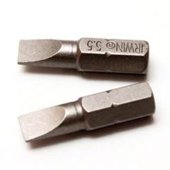 ььБита плоская 25 мм 0,8х5,5 мм, 2 шт Irwin Стандарт