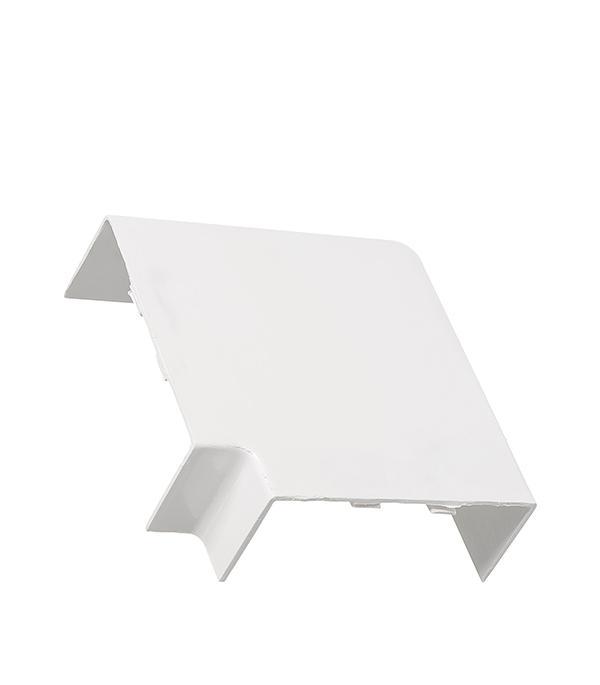 Угол плоский для кабель-канала 100x40 мм белый (2 шт.)