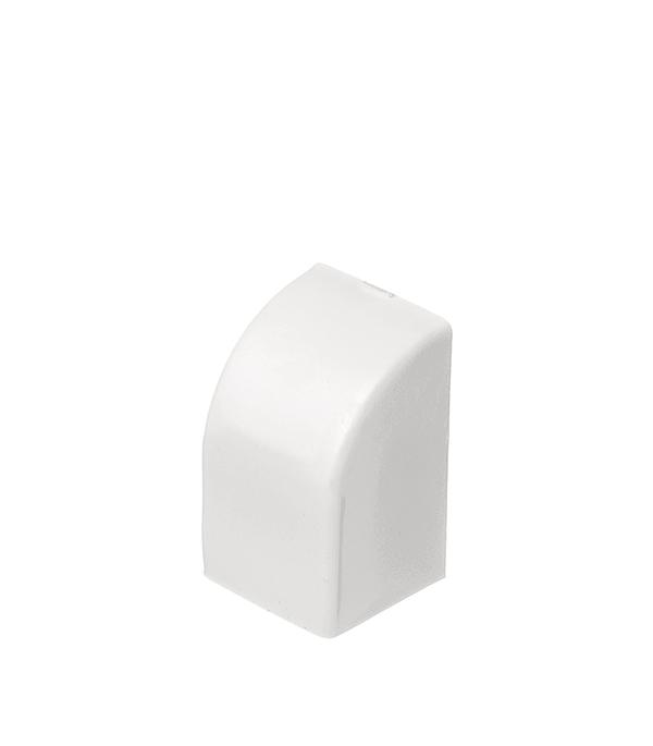 Заглушка для кабель-канала 16х16 мм белая (4 шт.)