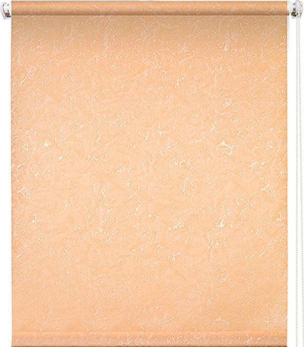 Штора рулонная 0,70х1,75 м Фрост персик штора рулонная фрост 140х175см белая