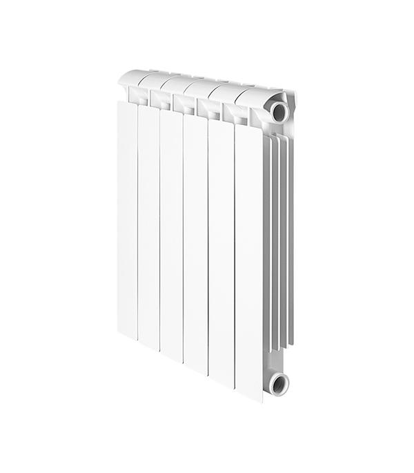 Радиатор биметаллический 1 Global Style Extra 500,  6 секций радиатор отопления global алюминиевые vox r 500 12 секций