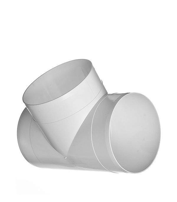 Тройник для круглых воздуховодов пластиковый d160 мм 90° тройник для круглых воздуховодов оцинкованный d125 мм 90°