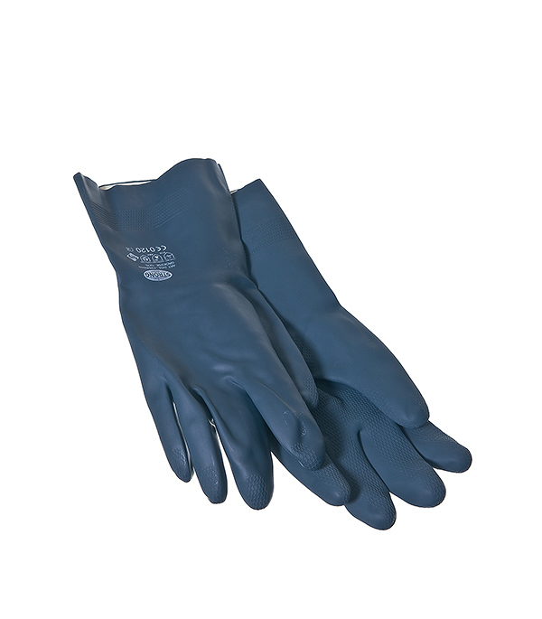 Перчатки из неопрена кислотоустойчивые, краги  KWB Профи