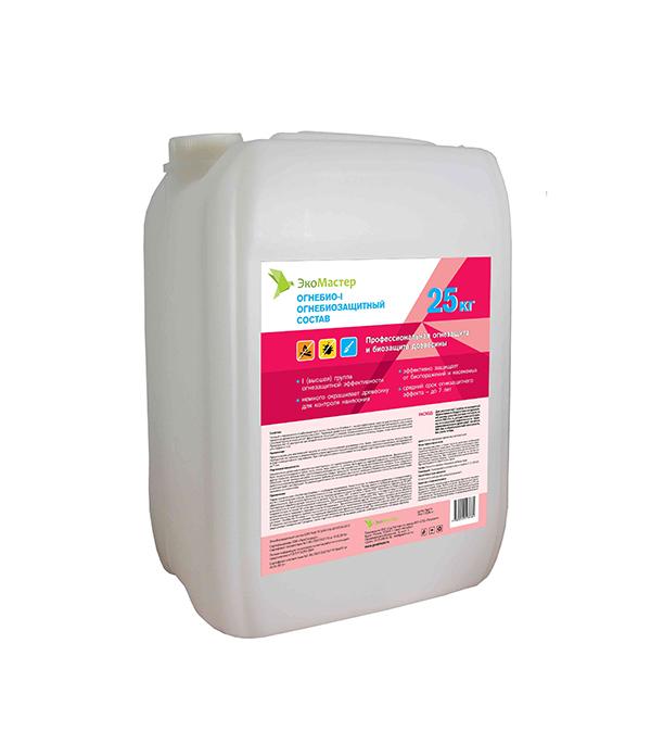 цена на Огнебиозащита ЭкоМастер 1 группа 25 кг