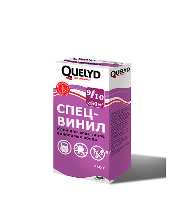 Клей Quelyd специальный виниловый для обоев 450 гр