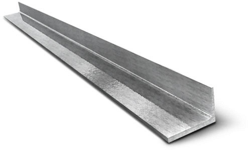 Угол алюминиевый 35x10x1,5x 1000 мм