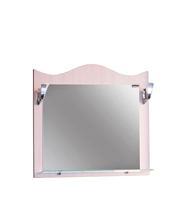Зеркало Венеция 65см, белое тумба меркана толедо под ум ник infinity 65см с 3 мя ящиками венге 27349