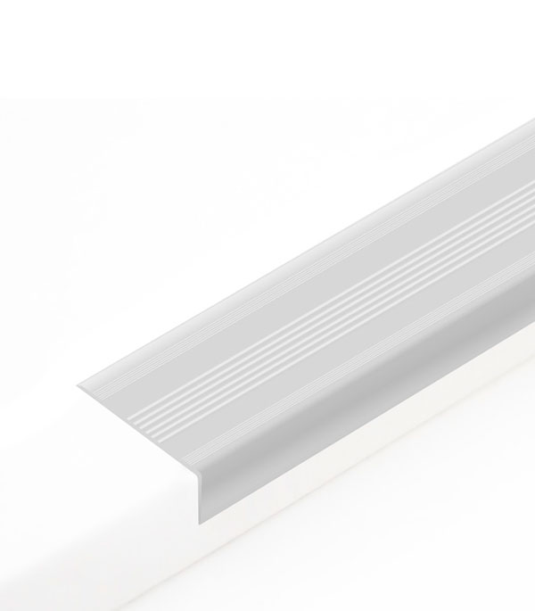 Угол антискользящий для ступеней 42х20х900 мм Светло-серый
