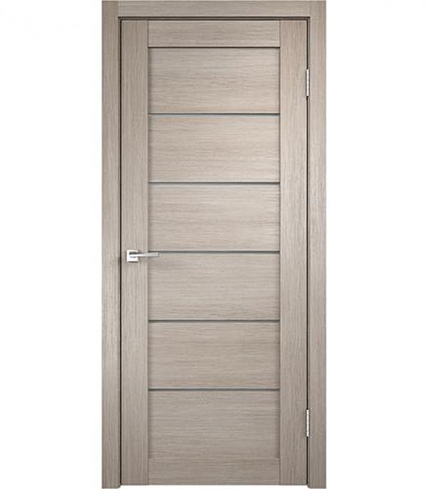 Дверное полотно экошпон VISION Капучино, 800х2000мм, без притвора ручка дверная morelli diy 02р sn cp никель белый хром