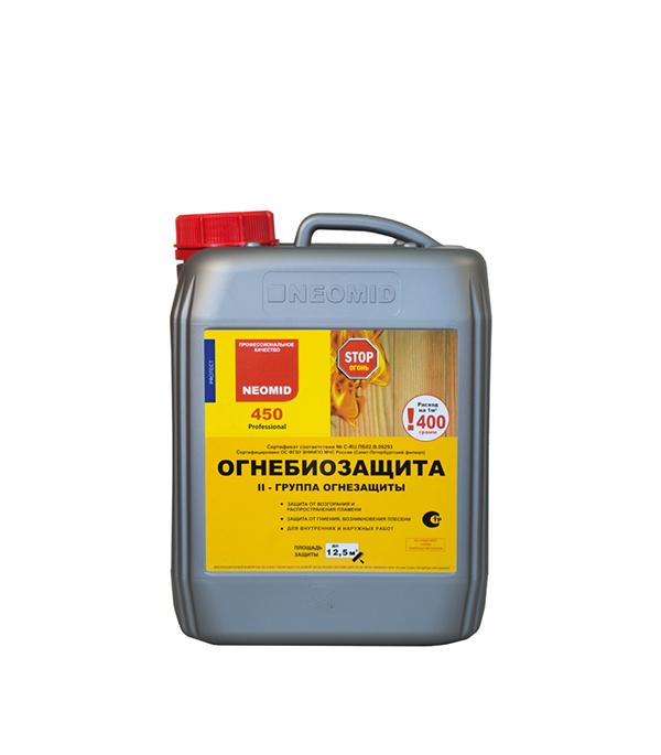 Огнебиозащита NEOMID 450 II группа 5 кг  антисептик woodmaster ксд огнебиозащита ii группа 23 кг