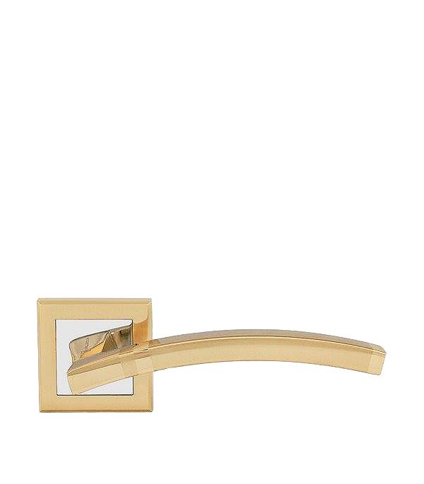 Дверная ручка Palladium City A Tesoro SG/GP матовое золото/золото замок врезной palladium зв al 1853 gp золото
