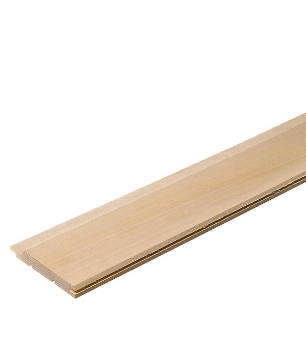 Вагонка Осина сорт А 12,5х96х3000 мм (S общ.= 2,88 кв.м, S раб.= 2,64 кв.м)