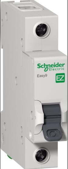 Автомат 1P, 10А, тип С, 4,5кА, Schneider Electric, Easy9