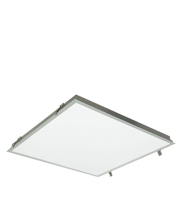 Светильник встраиваемый светодиодный 595x595, 1х38 Вт, опал. расс. IP54 Alumogips,CSVT