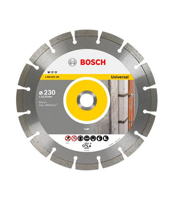 Диск алмазный сегментный универсальный Bosch Professional 180х22.2 мм диск алмазный сегментный универсальный 180х22 2 мм bosch профи