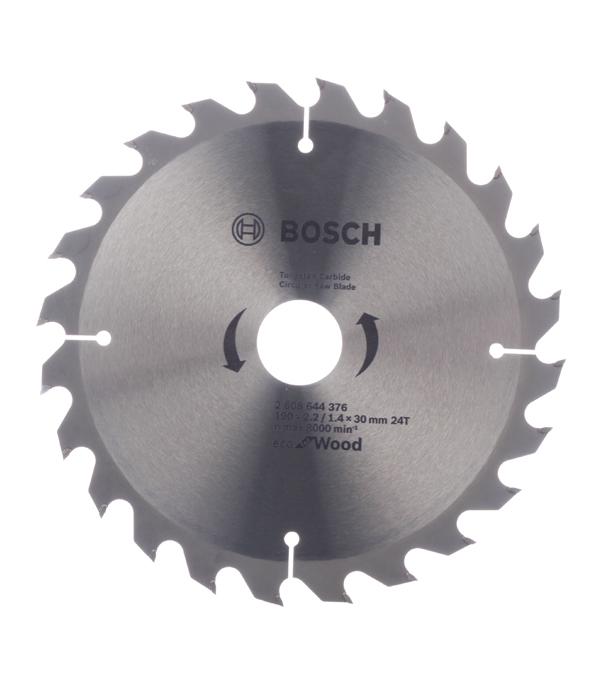 Диск пильный Bosch Optiline ECO 190х24х30 мм диск пильный bosch optiline 2608640610