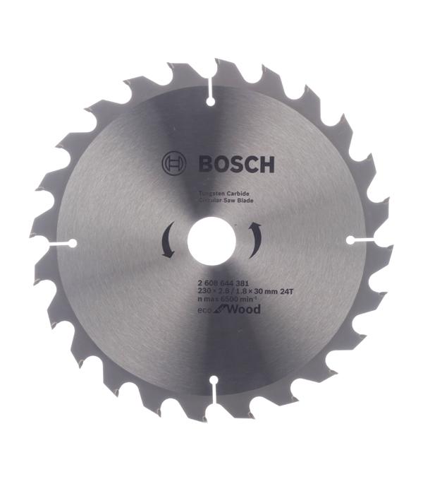 Диск пильный Bosch Optiline ECO 230х24х30 мм диск пильный bosch optiline 2608640610