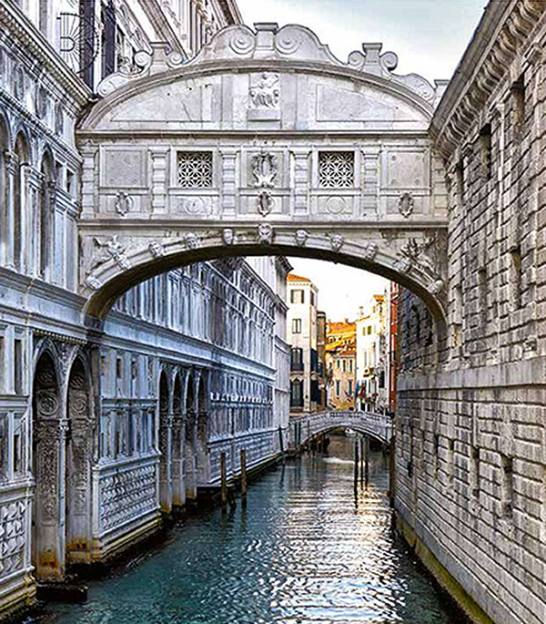 Фотообои 2,5х2,8 м 2 листа Венеция арт. 140108 OVK Design