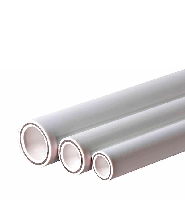 Труба полипропиленовая армированная стекловолокном Valtec 25х2000 мм PN 25  труба полипропиленовая армированная стекловолокном 20х2000 мм pn 20 valtec