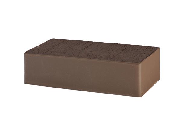 Кирпич лицевой коричневый полнотелый  Brunis М-500,  250х120х65 мм, Lode