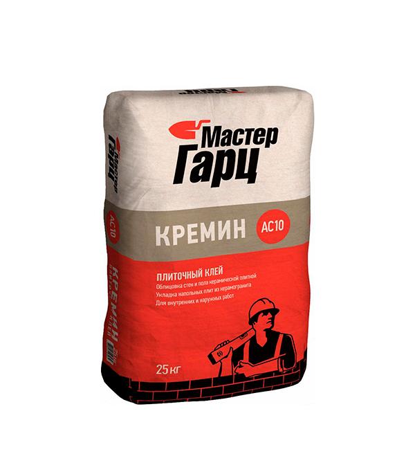Клей для плитки Мастер Гарц Кремин АС10 25 кг  цпс 150 кремин смесь универсальная uc15 мастер гарц 50 кг
