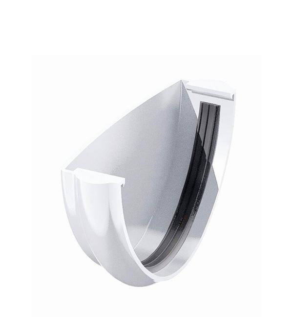 Заглушка желоба пластиковая белая Технониколь