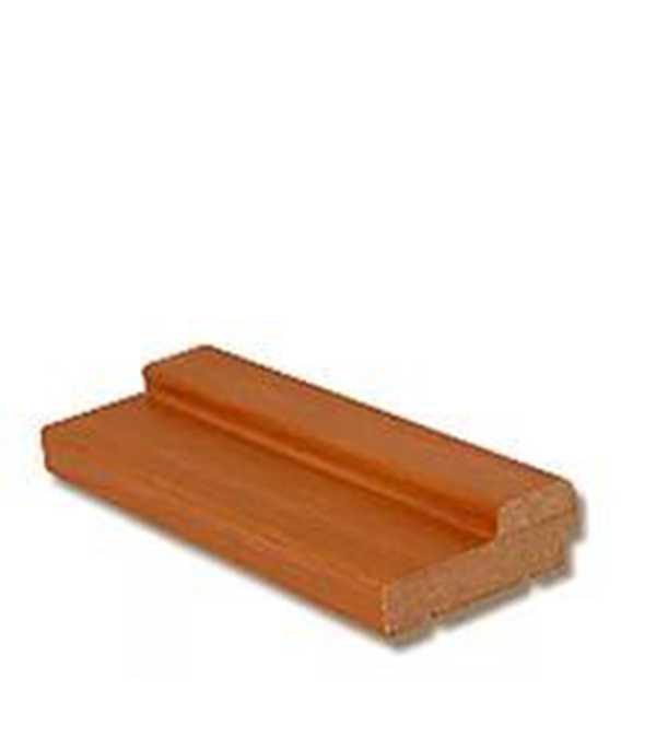 Коробка дверная VERDA Миланский орех М8х21 70х26х2040 мм без фрезеровки (комплект 3 шт) коробка дверная дпг миланский орех 600 с петлями