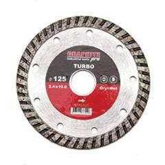 Диск алмазный турбо 230х22,2 мм Graphite Pro Стандарт