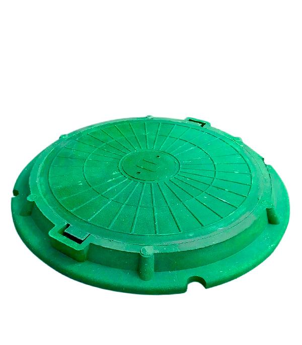 Люк полимерно-композитный легкий зеленый 750х70 мм, 3 т
