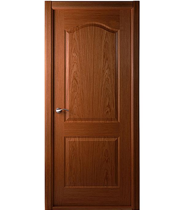Дверное полотно Белвуддорс Капричеза шпонированное Орех 600x2000 мм без притвора