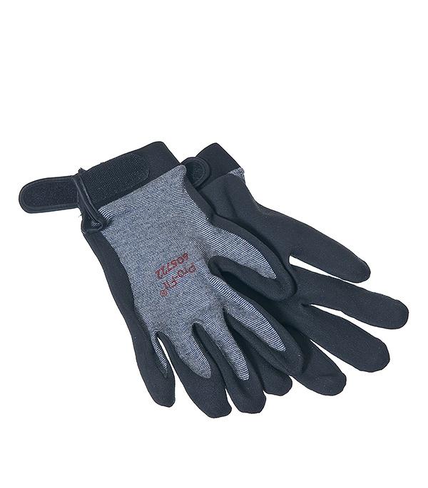 Перчатки из неопрена с застежкой-липучкой KWB Профи