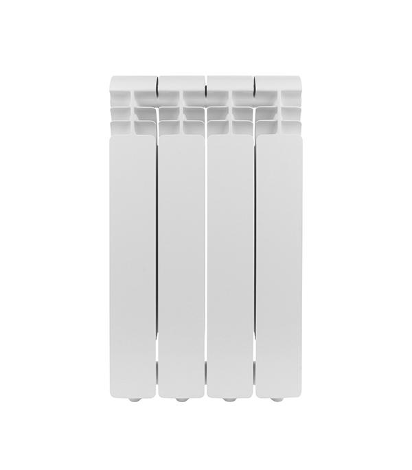 Радиатор алюминиевый 1 Global Iseo 500, 4 секций радиатор отопления global алюминиевые vox r 500 4 секции