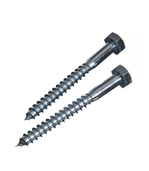 Болты сантехнические оцинкованные 10х120 мм DIN 571 (10 шт) болты сантехнические оцинкованные 6х70 мм din 571 40 шт
